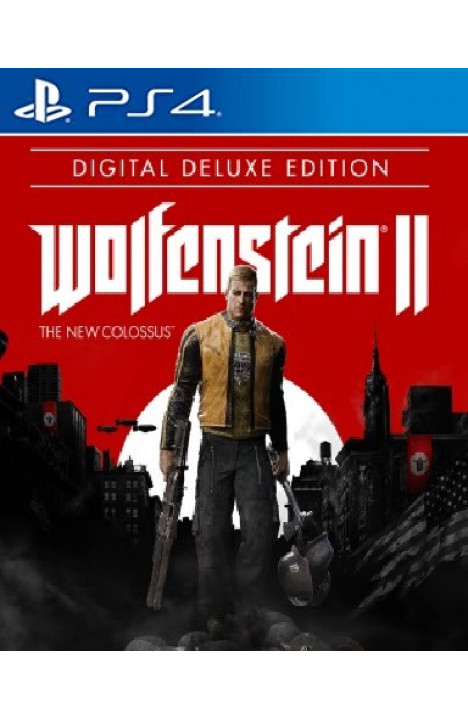 Wolfenstein 2 II: The New Colossus Deluxe Edition