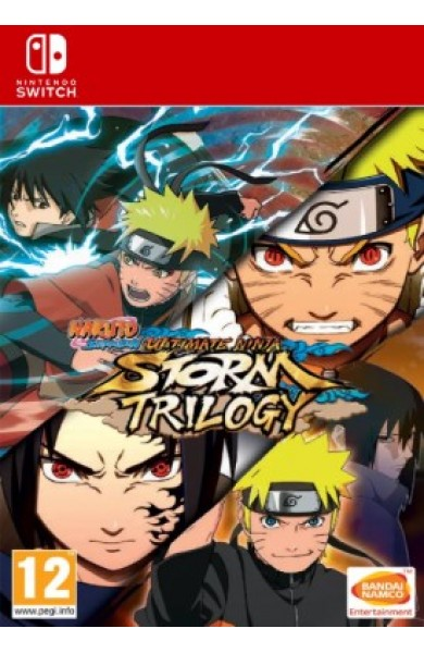 NARUTO SHIPPUDEN Ultimate Ninja Storm Trilogy - Switch