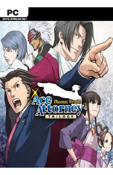Phoenix Wright: Ace Attorney Trilogy - Steam
