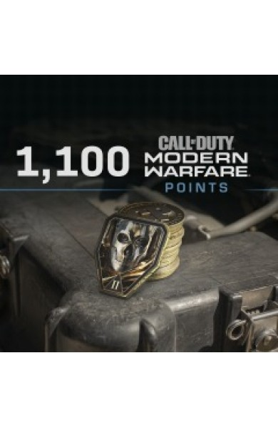 1100 Call of Duty Modern Warfare CP Points UK
