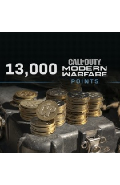 13000 Call of Duty Modern Warfare CP Points US