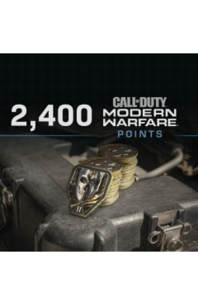 2400 Call of Duty Modern Warfare CP Points US