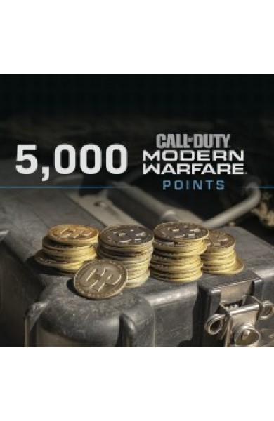 5000 Call of Duty Modern Warfare CP Points US