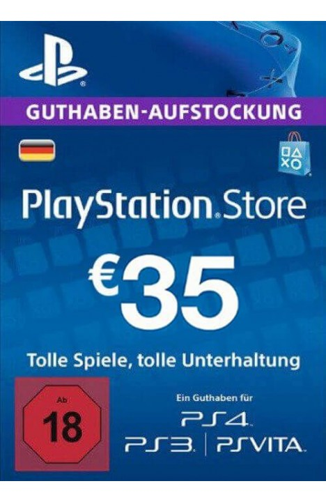 PlayStation Network (PSN) Card - 35 EUR (Germany)
