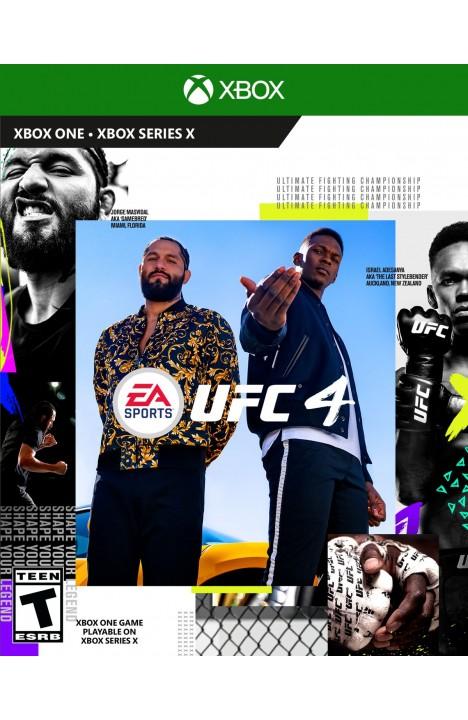 UFC 4 Xbox One OFFLINE ONLY
