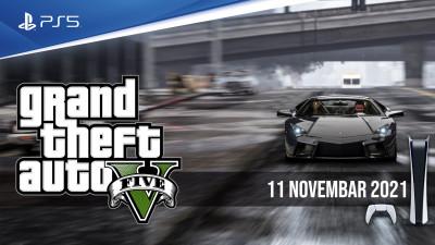 11. Novembra stiže GTA V na PlayStation 5 i Xbox Series X konzole!