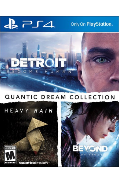 Quantic Dream Collection (Detroit Become Human,Heavy Rain,Beyond Two Souls)