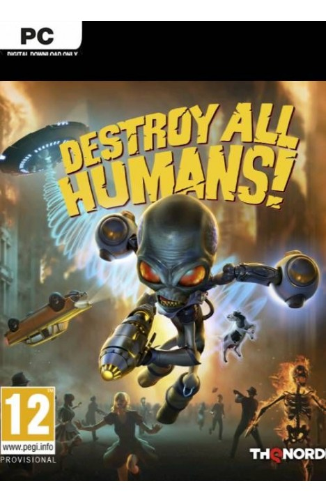 Destroy All Humans! - Steam Global CD KEY
