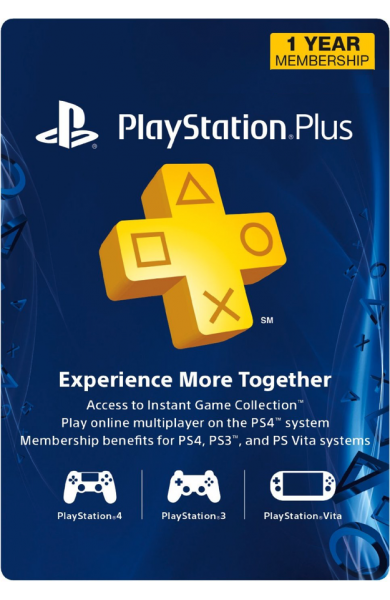 PS (Playstation) Plus 12 Months Membership (US)