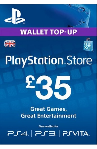 35 GBP PSN Card (UK)