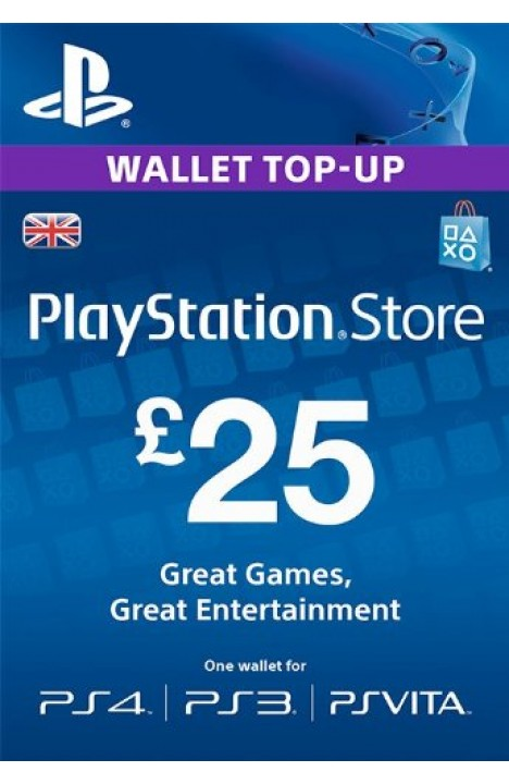 25 GBP PSN Card (UK)