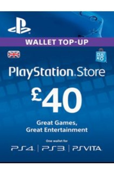 40 GBP PSN Card (UK)