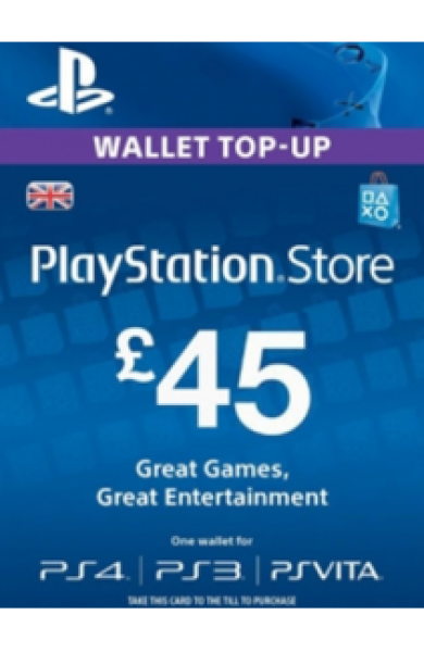 45 GBP PSN Card (UK)