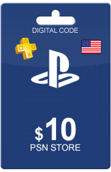 10 USD PSN Card (US)