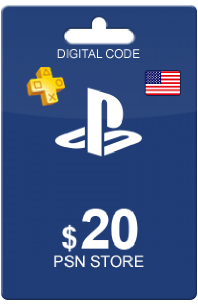 20 USD PSN Card (US)