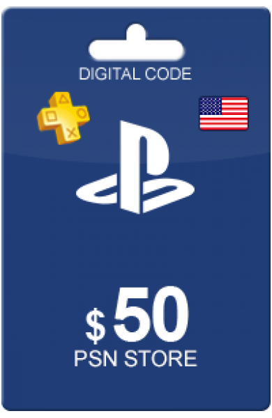 50 USD PSN Card (US)