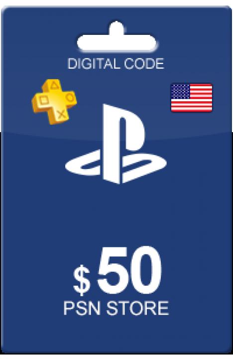 50 USD PSN Card (US)