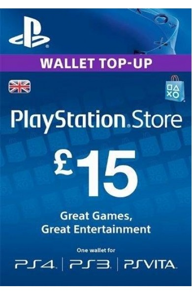 15 GBP PSN Card (UK)