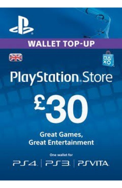 30 GBP PSN Card (UK)