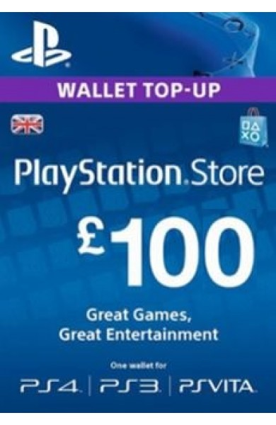 100 GBP PSN Card (UK)