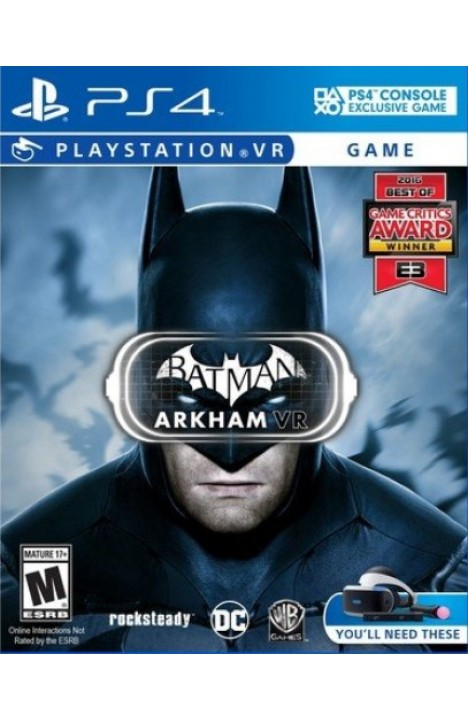 Batman Arkham VR INSTANT DOSTAVA SA PayPal/Credit Cards