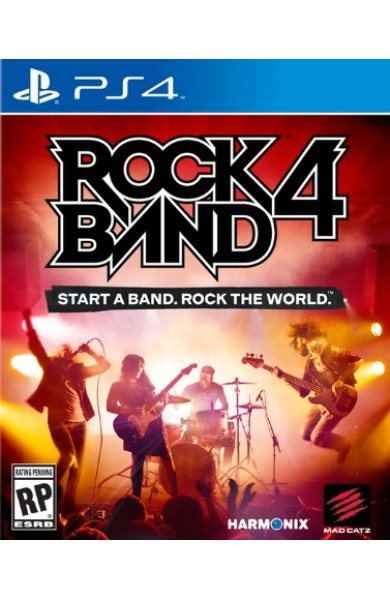 Rock Band 4 Rivals Bundle