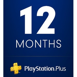 PlayStation Plus u trajanju od 12 meseci ( Random Region )