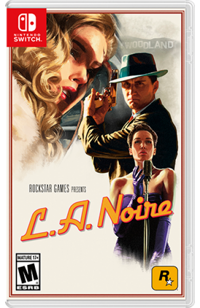 L.A. Noire USA Digital Code Switch