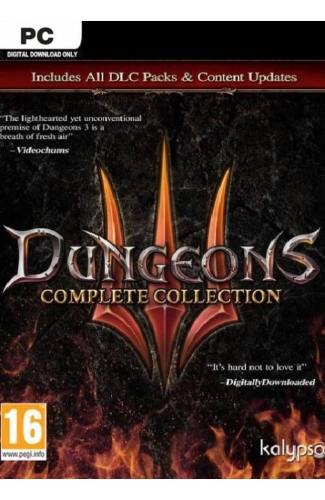 Dungeons III - Complete Collection - Steam Global CD KEY