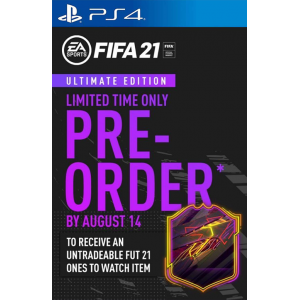 FIFA 21 Ultimate Edition + Limited Time Bonus PRE-ORDER