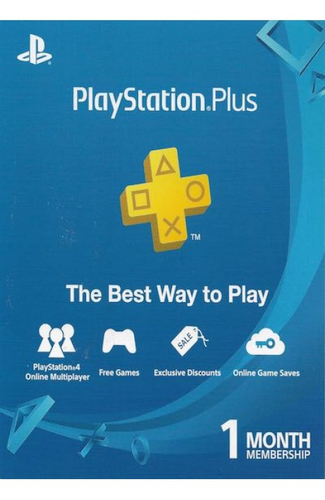 PlayStation PS Plus 1 Mesec INSTANT DOSTAVA SA PayPal/Credit Cards