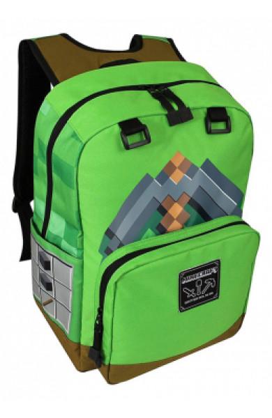 "Minecraft 18"" Pickaxe Adventure Ranac - Zeleni"