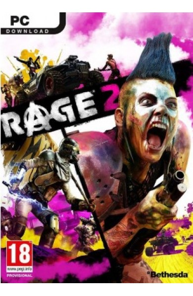 Rage 2 - Bethesda Launcher Global CD KEY