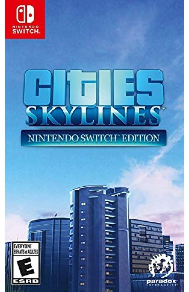 Cities: Skylines — Nintendo Switch Edition USA Digital Code Switch