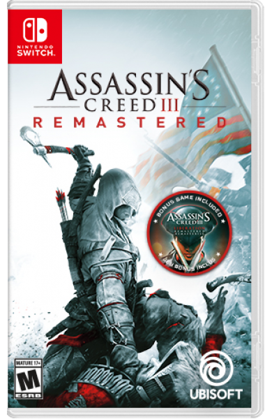 Assassins Creed III Remastered USA Digital Code Switch