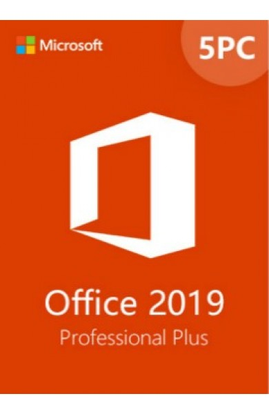 Office Professional Plus 2019 5 Devices
