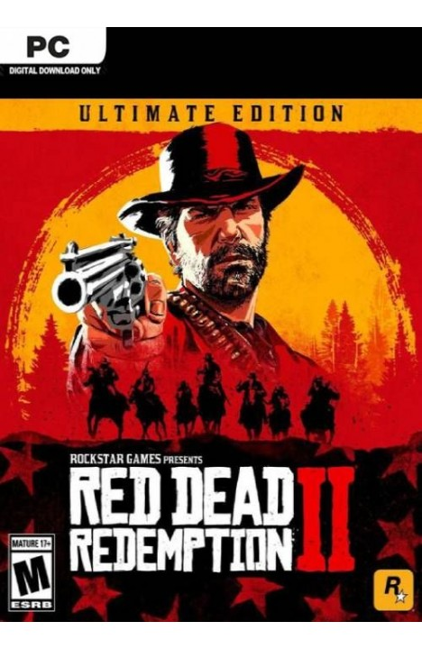 Red Dead Redemption 2 Ultimate Edition + ONLINE (Rockstar Game Launcher) Global CD KEY