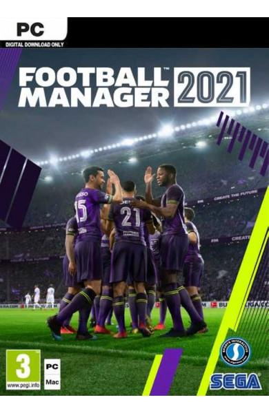 Football Manager 2021 - Steam VPN ACTIVATION