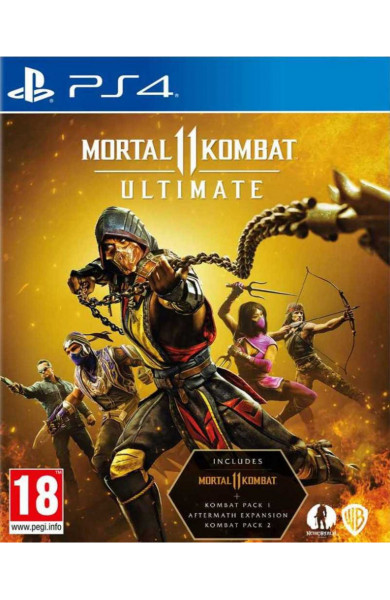 Mortal Kombat 11 Ultimate PS4 & PS5