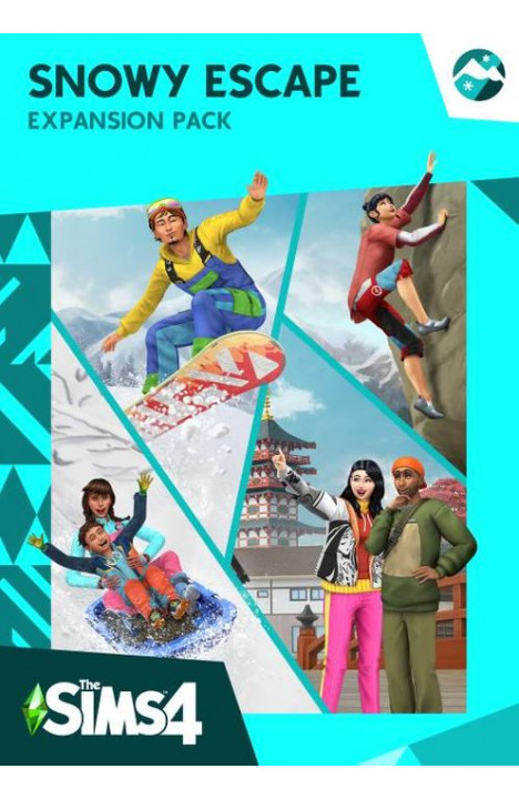 The Sims 4 Snowy Escape Expansion Pack - Origin Global CD KEY