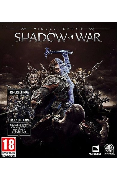 Middle-earth: Shadow of War - Steam Global CD KEY