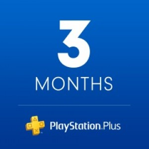 PlayStation Plus u trajanju od 3 meseca ( Random Region )
