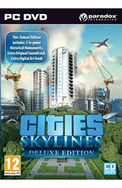 Cities Skylines Deluxe Edition - Steam Global CD KEY