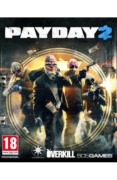 Payday 2 - Steam Global CD KEY