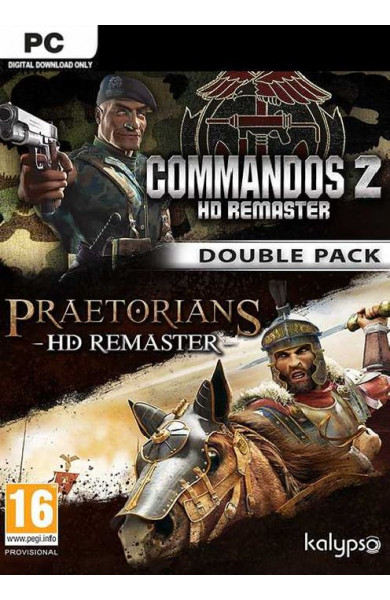 Commandos 2 & Praetorians: HD Remaster Double Pack - Steam Global CD KEY