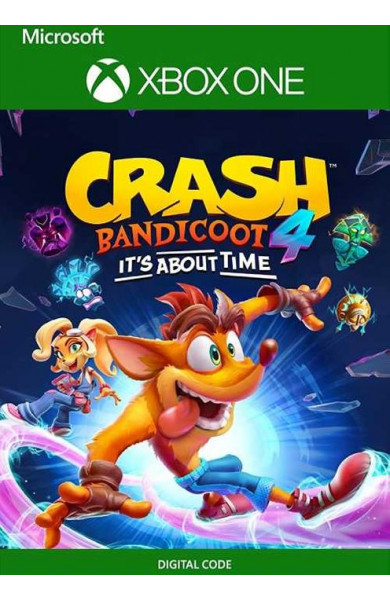 Crash Bandicoot 4: Its About Time Xbox One OFFLINE ONLY