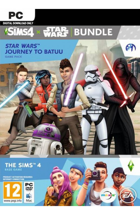 The Sims 4 + Star Wars: Journey to Batuu - Origin Global CD KEY