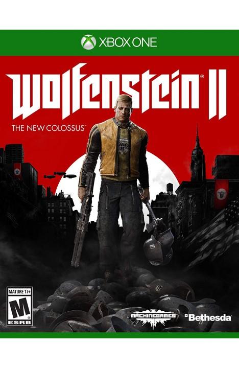 Wolfenstein II 2 The New Colossus XBOX ONE OFFLINE ONLY
