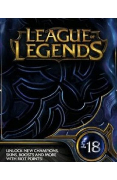 League of Legends RP Card (UK) 18 GBP