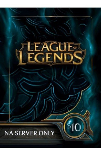 League of Legends RP Card (NA) 10 $